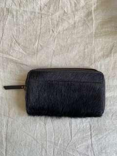 Status Anxiety Faux Fur Wallet