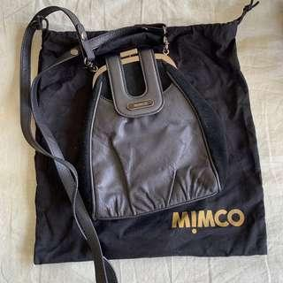 Mimco Black Shoulder Bag