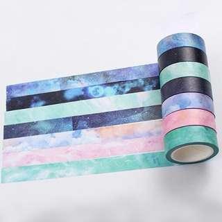 glitter washi tapes
