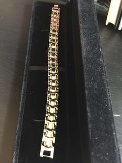 Stainless magnetic bracelet men style