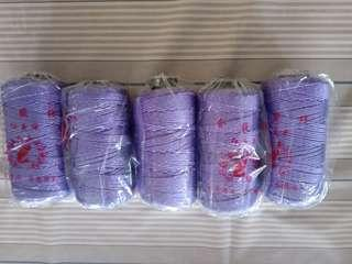 Yarn nylon gold