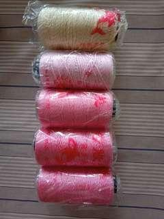 Nylon yarn gold