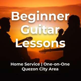 Beginner Guitar Tutorials (Home Service)