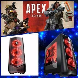Hadir Cicilan Pc Rakitan Gaming/ Design Support Apex Lagends Dp 3.2 jt