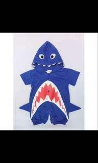 Baby shark costume Small 0-6mos