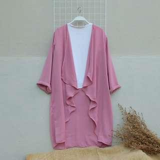 Pink Outer ruffle
