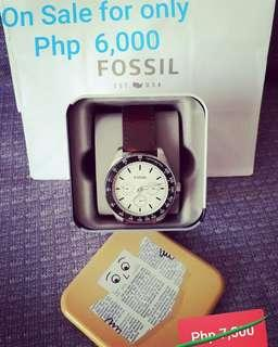 AUTHENTIC FOSSIL FOR MEN