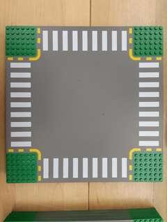 Lego road plate 馬路 C 十字 最後2片