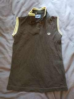 Fred Perry Women Sleeveless Polo