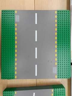 Lego road plate 馬路 D 直路