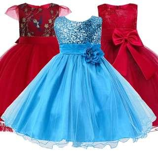 Princess Dresses Girls Dresses Flower Girl Dress Special Occasion Dresses Wedding Dress For 2-12 Years Old Girls Dress