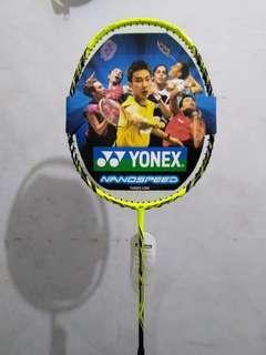 Raket Badminton Yonex Carbon Import Nanospeed