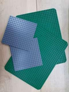 Lego road plate 馬路 G 四片