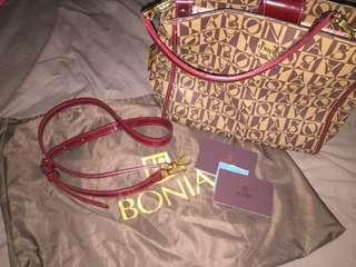 Bonia Bag Full Set with bag strap