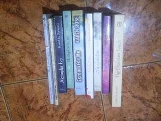 Paket novel murah 75k dpt 9