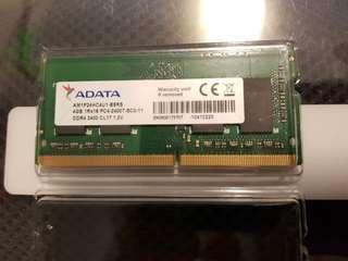 4GB DDR4 Laptop Ram PC2400