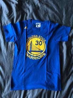 Adidas NBA GSW Stephen Curry Warm up Tee