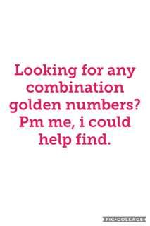 Looking for golden numbers?