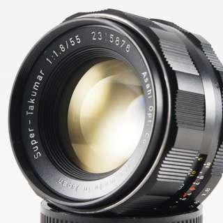 **日光銀鹽** Pentax Super-Takumar 55mm F1.8 M42接環 #15876