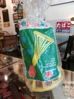 Vintage Tupperware Toys Popalot ball Game NOS