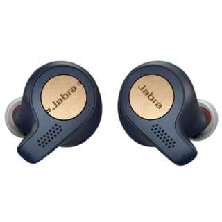 Jabra Elite Active 65t True Wireless Earphones (Copper Blue)
