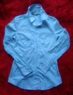 Prada Women's Stripe Blue Long Sleeve (unused)
