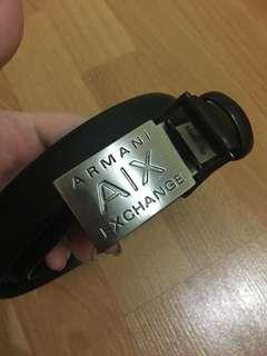 authentic armani exchange women belt