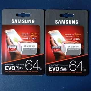 Samsung Evo Plus [64GB ]