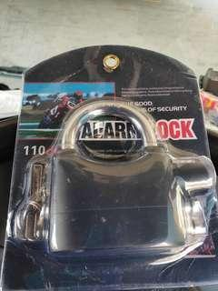 Alarm lock for bike or scooter