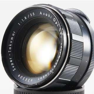**日光銀鹽** Pentax Super-Takumar 55mm F1.8 M42接環 #309