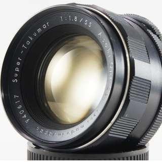 **日光銀鹽** Pentax Super-Takumar 55mm F1.8 M42接環 #617