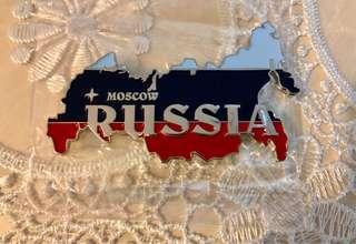 FRIDGE MAGNET RUSSIA