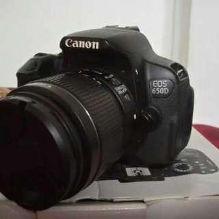Cano EOS 650D
