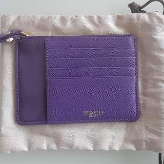 Pernelle Patent Leather Card / Coin Wallet  漆皮銀包