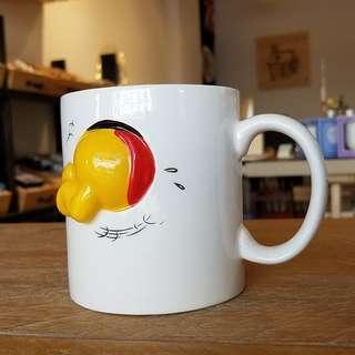 日本SUNART小熊維尼立體陶瓷馬克杯(Disney Happening Mug – Winnie the Pooh)