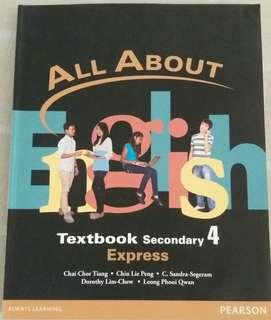 All About English Textbook (Sec 4 Express)
