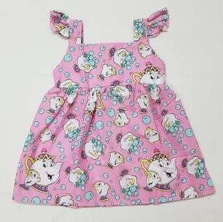 🚚 ☕ Mrs Potts and Chip princess dress