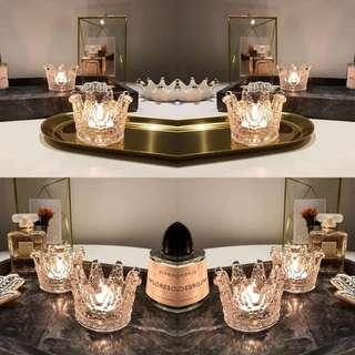 小皇冠蠟燭臺