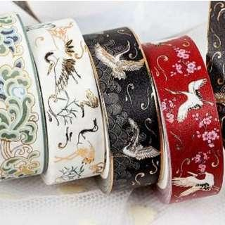 Crane Washi Tapes