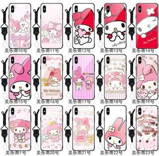 PRE-ORDER PH006 Melody Tempered Glass Back Case