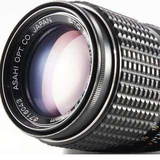 **日光銀鹽** Pentax-M SMC 135mm F3.5 PK接環 #043