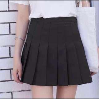 📦[INSTOCK] Black Pleated AA Tennis Skirt