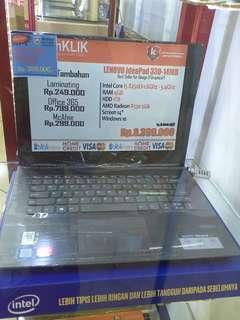 Laptop Lenovo Idepad 330 bisa cash dan kredit