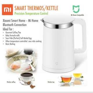 Xiaomi Precision Temperature Controlled Smart Kettle. Brew perfect coffee, tea or singapore style soft boiled egg.