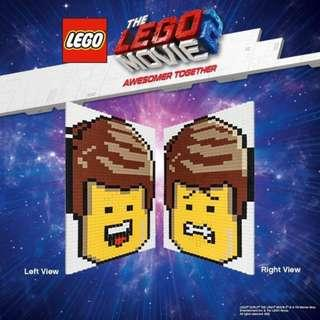 limited edition LEGO Emmet's Lenticular Mosaic 70840