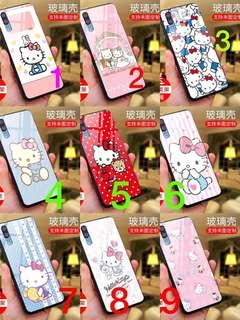 PRE-ORDER PH008 Hello Kitty Tempered Glass Back Case