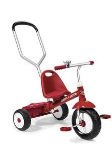 🚚 Radio Flyer Deluxe Steer and Stroll Trike