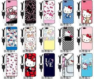 PRE-ORDER PH009 Hello Kitty Tempered Glass Back Case
