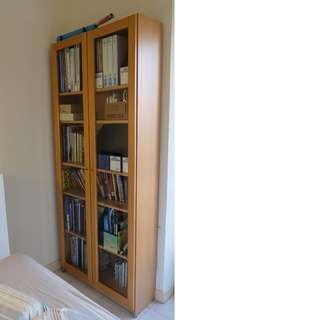 Glass Door Bookshelf