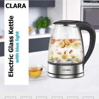 Clara Electric Cordless Glass Kettle CX-817
